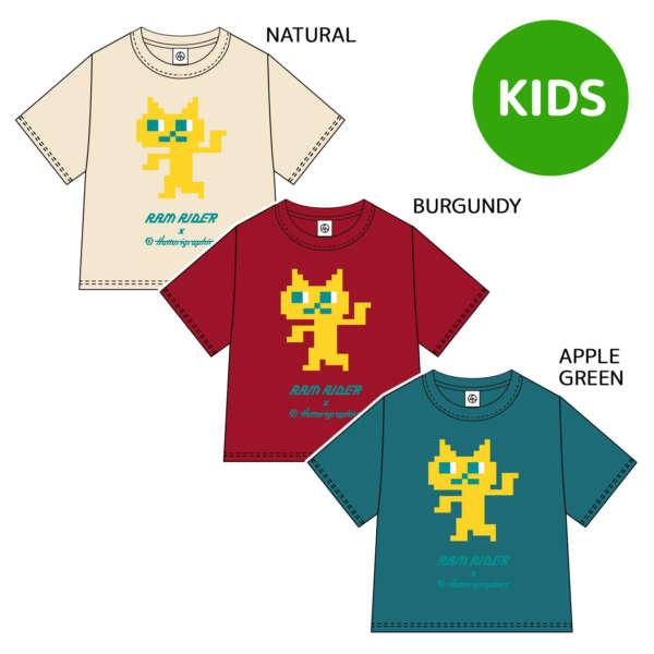 """SET ME FREE T-SHIRTS """"ねこ"""" (KIDS)"""
